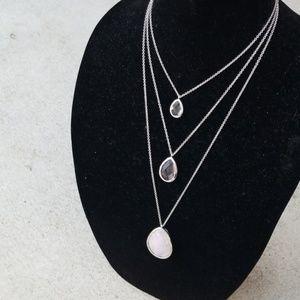 Minaret 3-row necklace